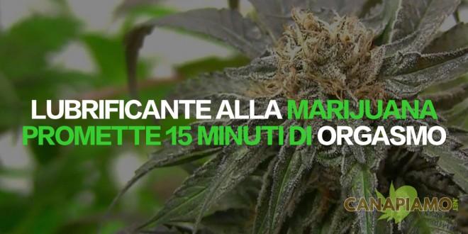 Lubrificante alla marijuana - FORIA