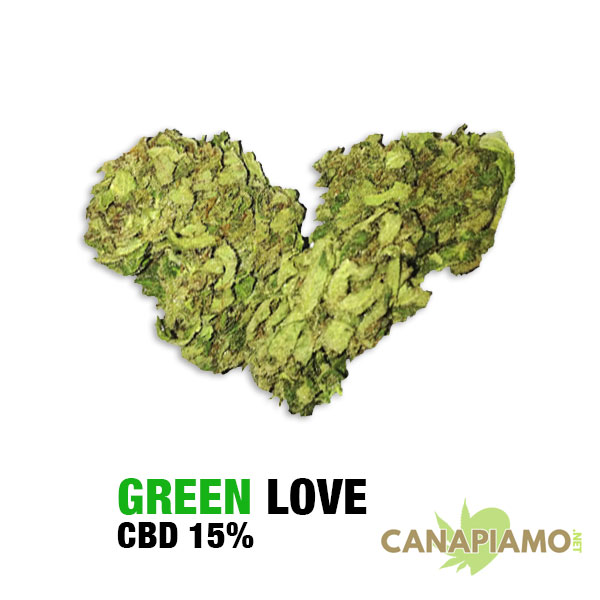 Green Love - Cannabis light 15% CBD